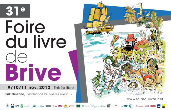 10 novembre 2012 : Jéromine Pasteur à la foire du livre de Brive
