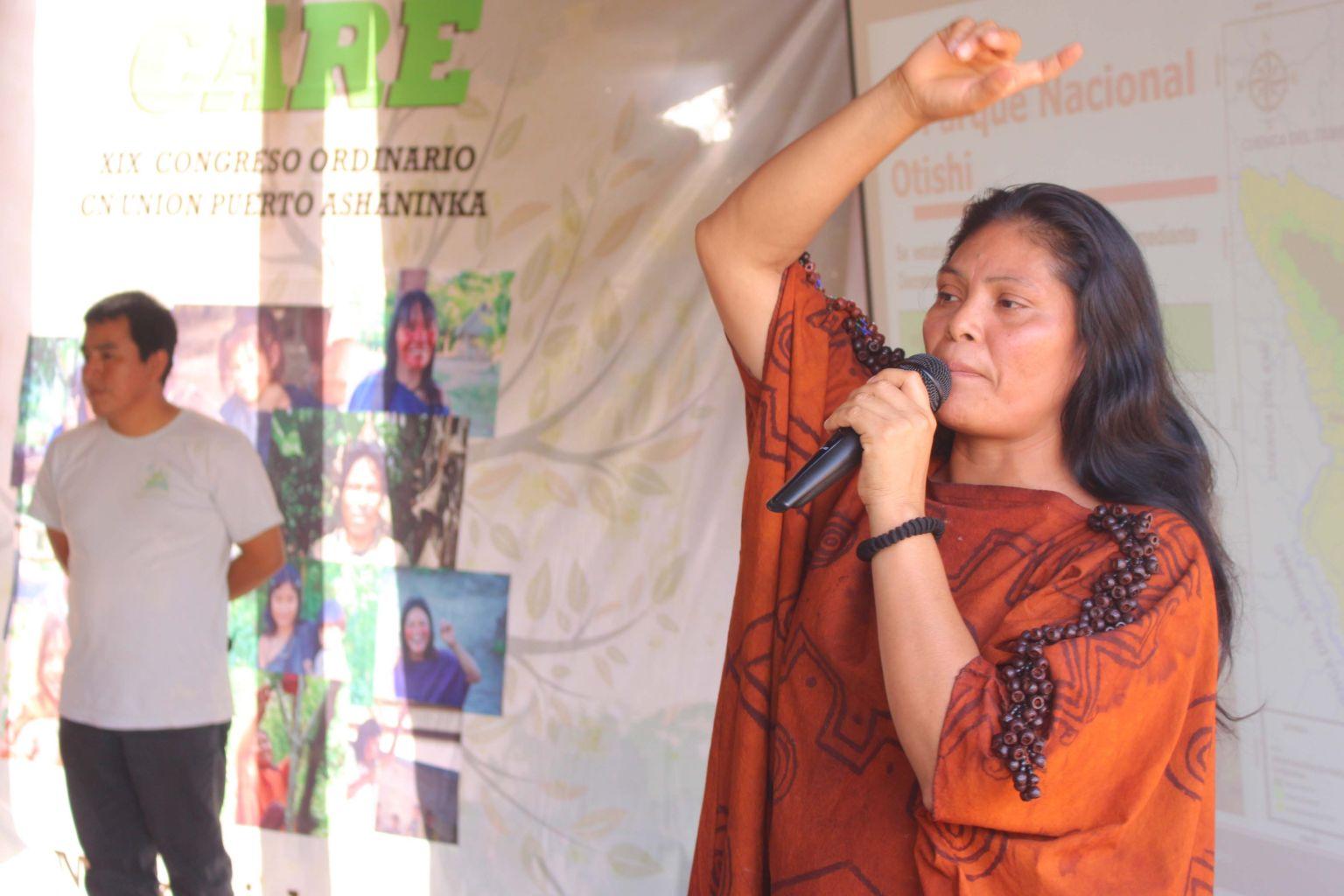 Soutenons le combat de Ruth pour les Indiens ashaninkas